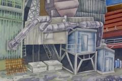 factory_02, watercolour, 36x51 cm, 2017