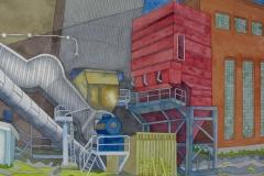factory_03, watercolour, 36x51 cm, 2017