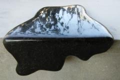 Black Stain I, 30x30x20 cm, granite, 2018