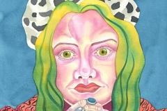 Ursula 09, watercolour on paper, 2015-20