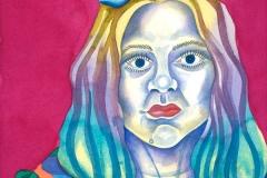 Ursula 05, watercolour on paper, 2015-20