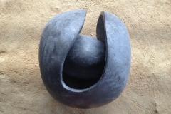 Ballball, 45x45x65 cm, granite, 2018