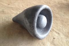 Horn Of Plenty, 45x45x65 cm, granite, 2018
