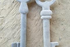 Keys, 60x30x10 cm, granite, 2019