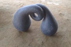Metamorphosis, 80x60x40 cm, granite, 2017