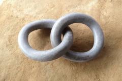 Rings, 50x100 cm, granite, 2017