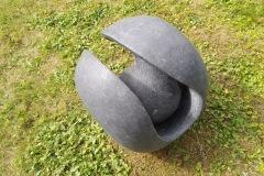 BallBall, radius 50 cm , granite, 2019
